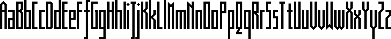 Muzarela Condensed Regular Font