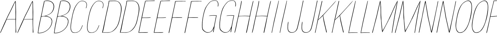 Have a Nice Day Light Italic