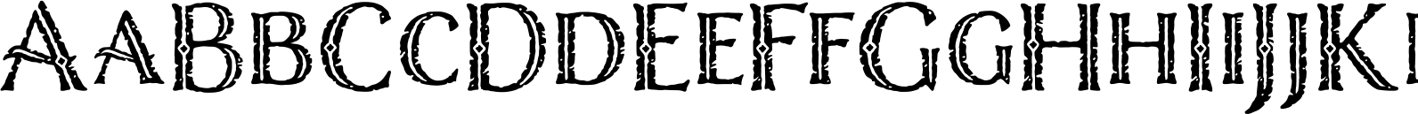 Nelson Engraved Font