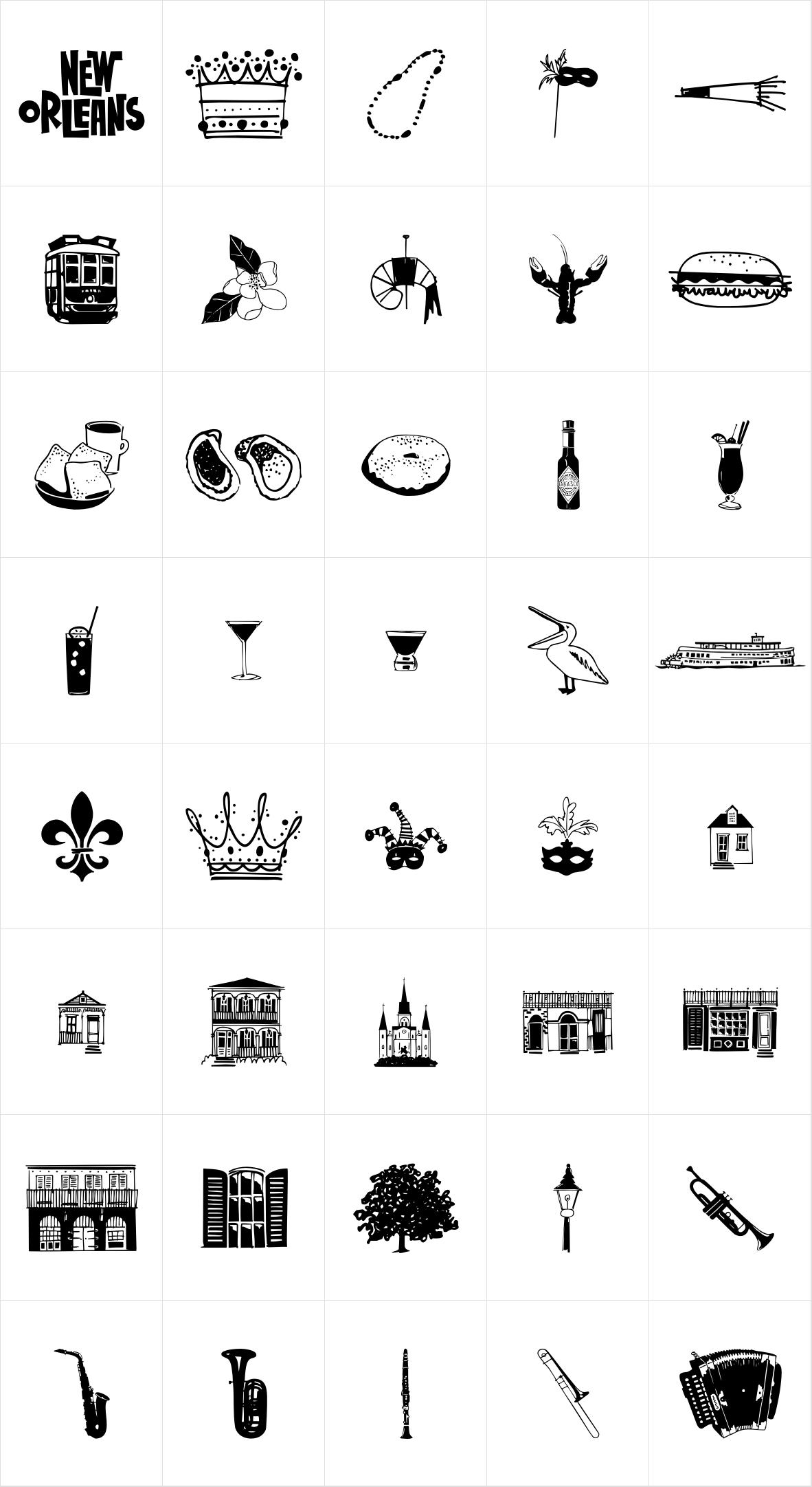 New Orlean Doodles