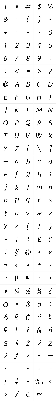 Murena Italic