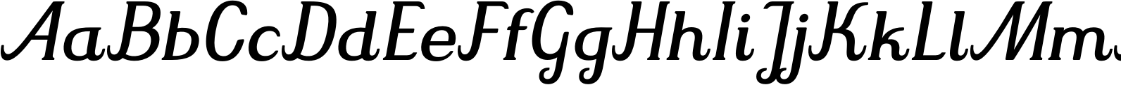 Mrs Green Regular Italic