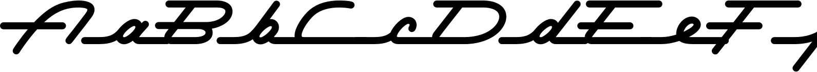 Permanent Waves Font