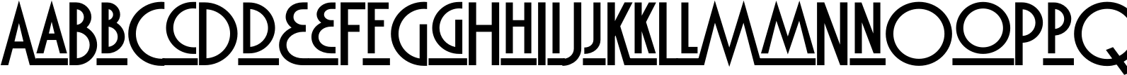 Marquisette BTN Lined Bold Font