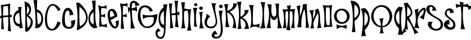 Troutkings BTN Condensed Font