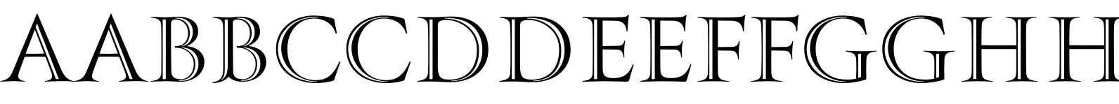 PFMonumentaPro Shaded Font