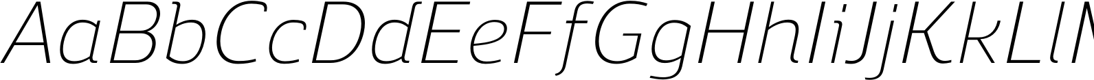 Regan Alt Light Italic