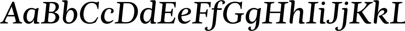 Nyte Book Italic Font