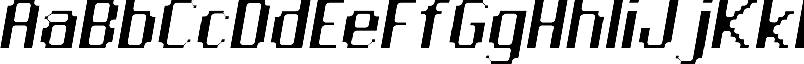 Citymap Rounded Oblique