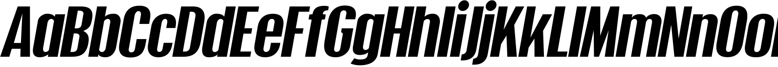 Xheighter Oblique Font