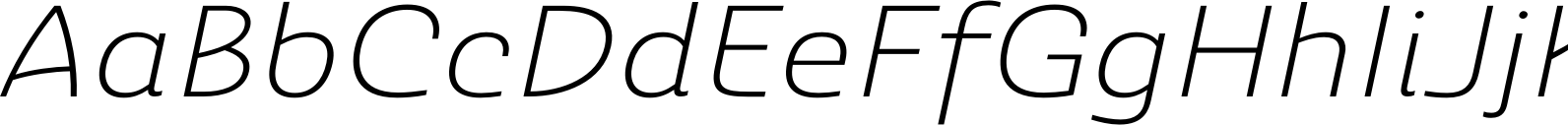 Ashemore Ext Light Italic