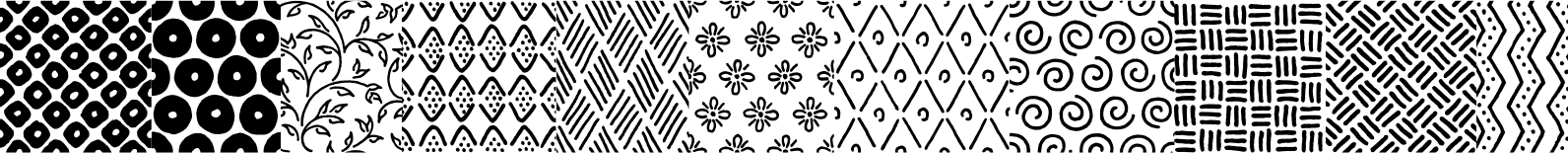 Melany Lane Patterns Font