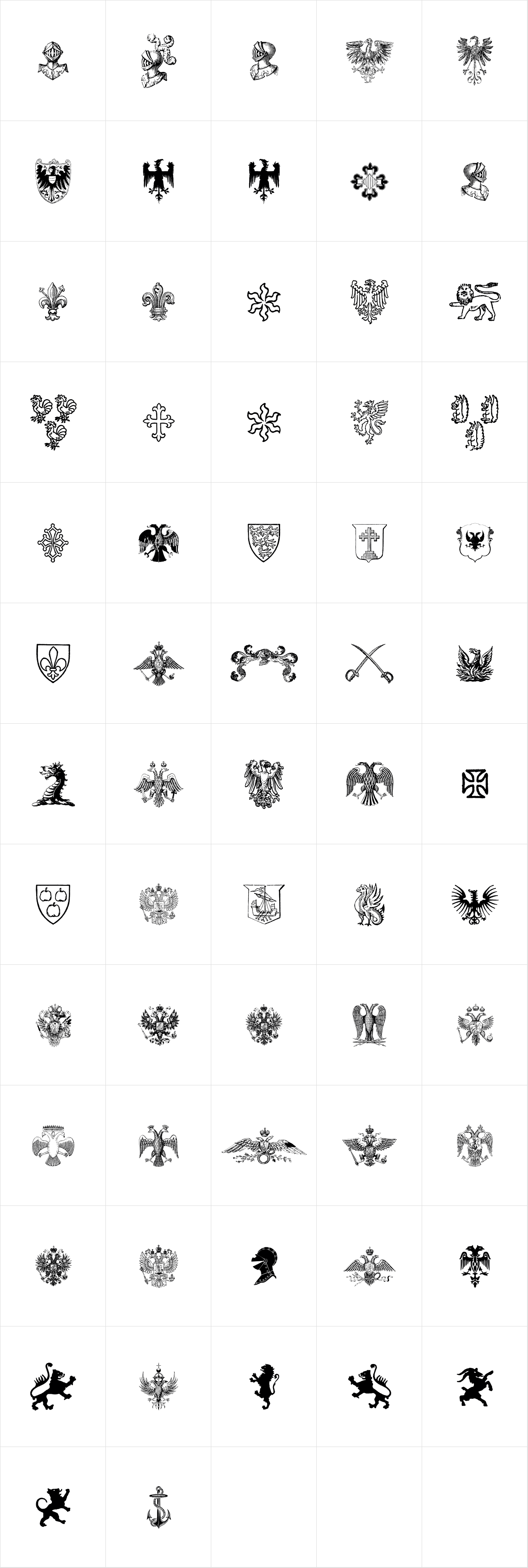 Heraldic Devices Premium Two