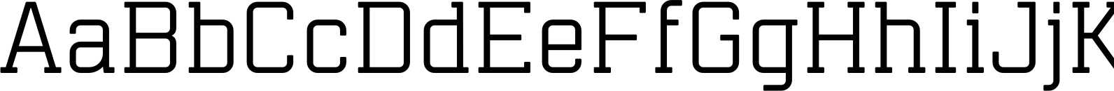 Mensura Slab Regular Font