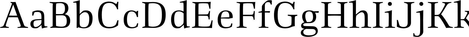 Richler Cyrillic Regular Font