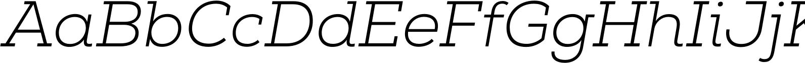 Nexa Slab Light Italic
