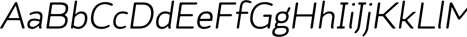 Kahlo Rounded Bold Essential Italic