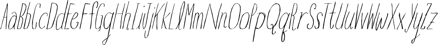 BGoblet Drawn Comp Thin Itl Font