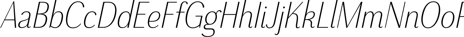 Grenale Cond Light Italic Font