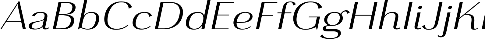 Grenale Ext Regular Italic Font