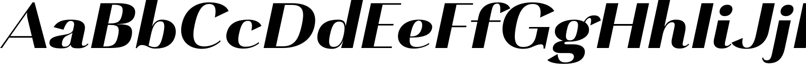 Grenale Norm Heavy Italic