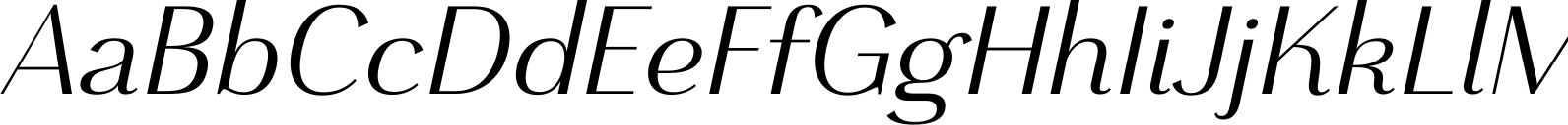 Grenale Norm Regular Italic Font