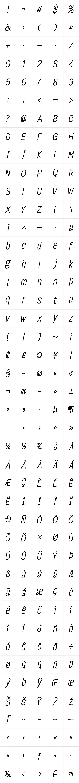 FourSeasons Essential Bold Italic