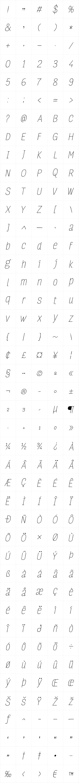 FourSeasons Essential Italic