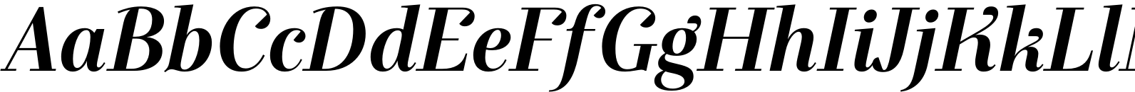Exquise FY Bold Italic