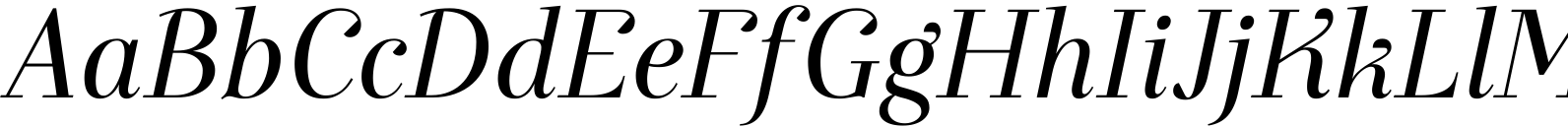 Exquise FY Italic Font