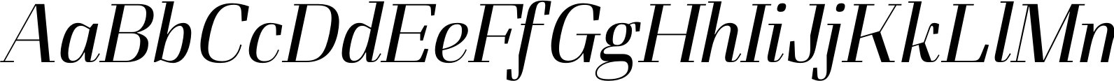 FelisItalic Light