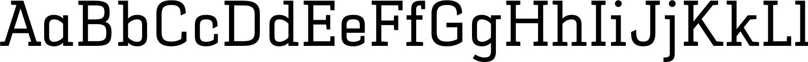 Selektor Slab Regular Font