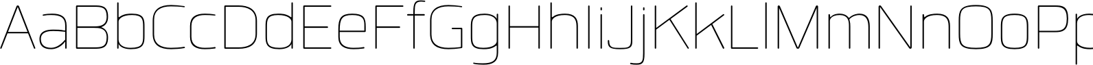 Quan Rounded Hairline Font