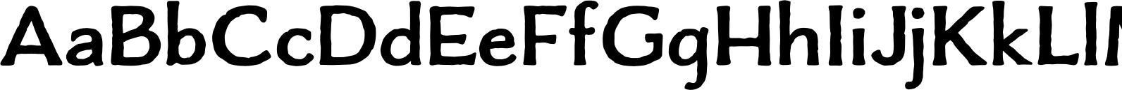 Charcuterie Flared Bold Font