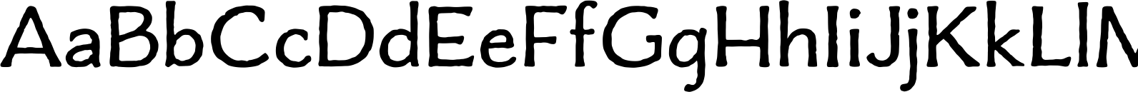 Charcuterie Flared Font