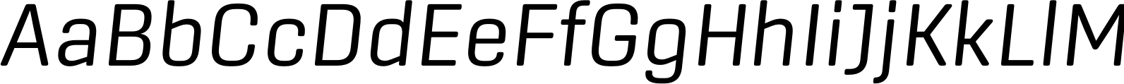 Center Light Italic Font