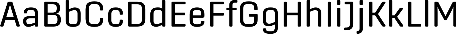 Center Regular Font