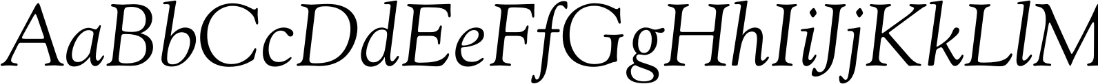 Goudy Old Style DT Italic