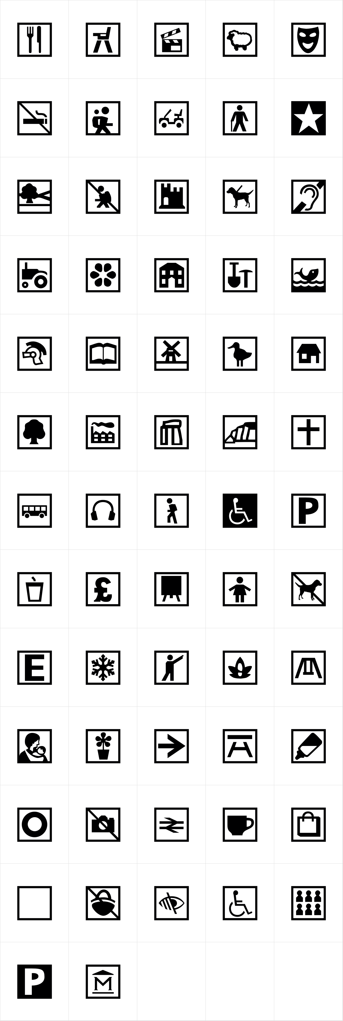 Leisure TourismIcons DT 1