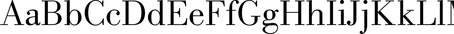 New Bodoni DT Book Font