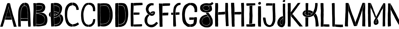 Undersong Filled Font