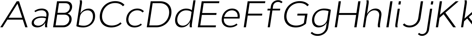 CynthoPro LightItalic
