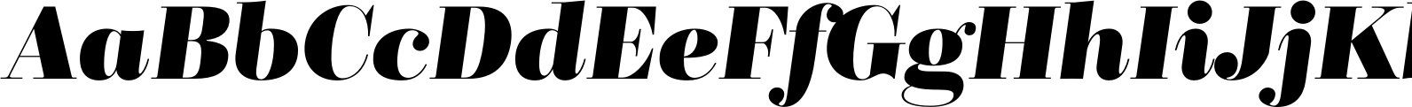 BridoneTitling Bold Italic