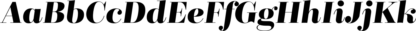 BridoneTitling DemiBold Italic
