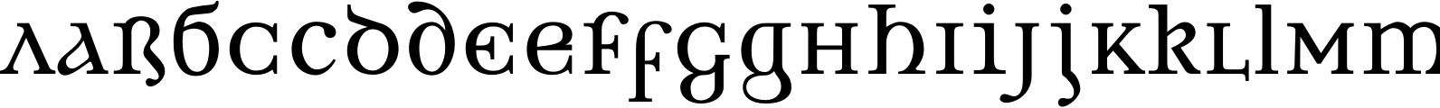 Brogue Regular Font
