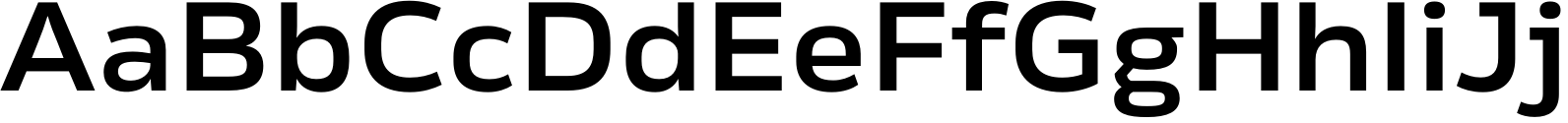 Rleud Extended Demi Font