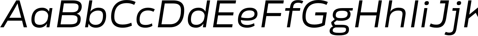 Rleud Extended Italic Font