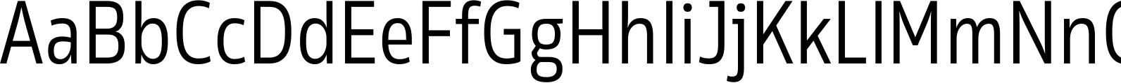 Rleud Narrow Regular Font