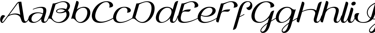 Vailsnick Italic Font