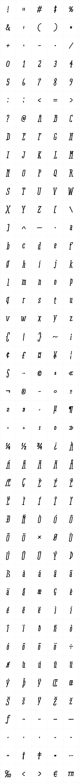 RidemyBike Serif Essential Bold Italic